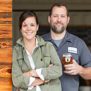 Kevin Ryan and Meredith Sutton, Founders Service Brewing Co. | Savannah, GA