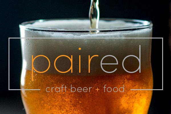 Paired beer and food pairings