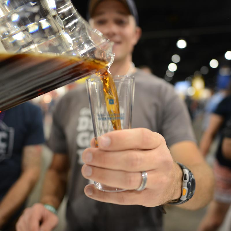 GABF beer pour